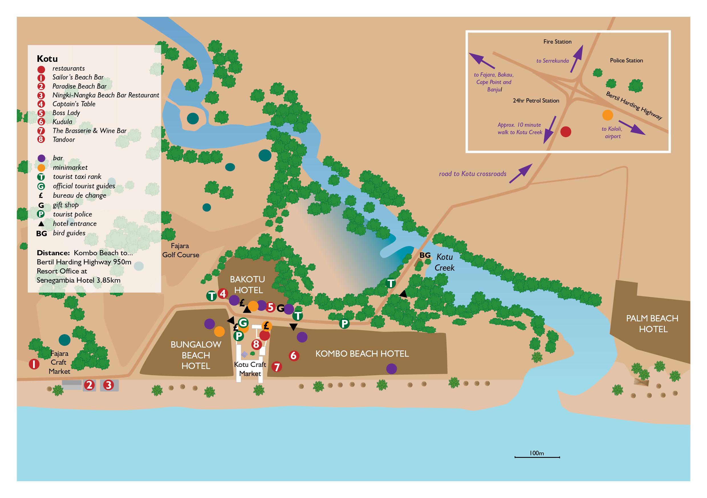 Hotel Sunset Beach Gambia Kotu Beach