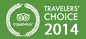 Travelers' Choice Award 2014