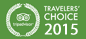 Travelers' Choice Award 2015