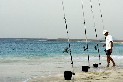 Fishing on Island of Sal