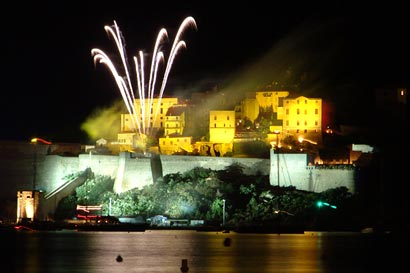 Fireworks at Calvi