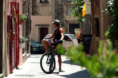 Cycling in St Florent