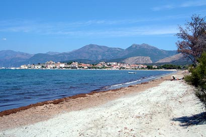 Beach in St Florent