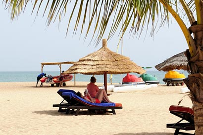 Beach at Lamantin Hotel, Saly