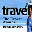 The Sunday Times Travel Expert Awards December 2007