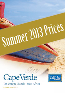 Cape Verde Experience Summer 2013 Price Sheet